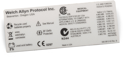 LABEL SAFETY AGENCY F/VSM300 - Medical Supplies and Equipment - Canada